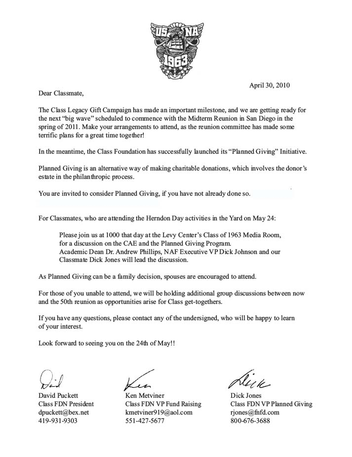 Letter To Blue And Gold Officer Letter Sample